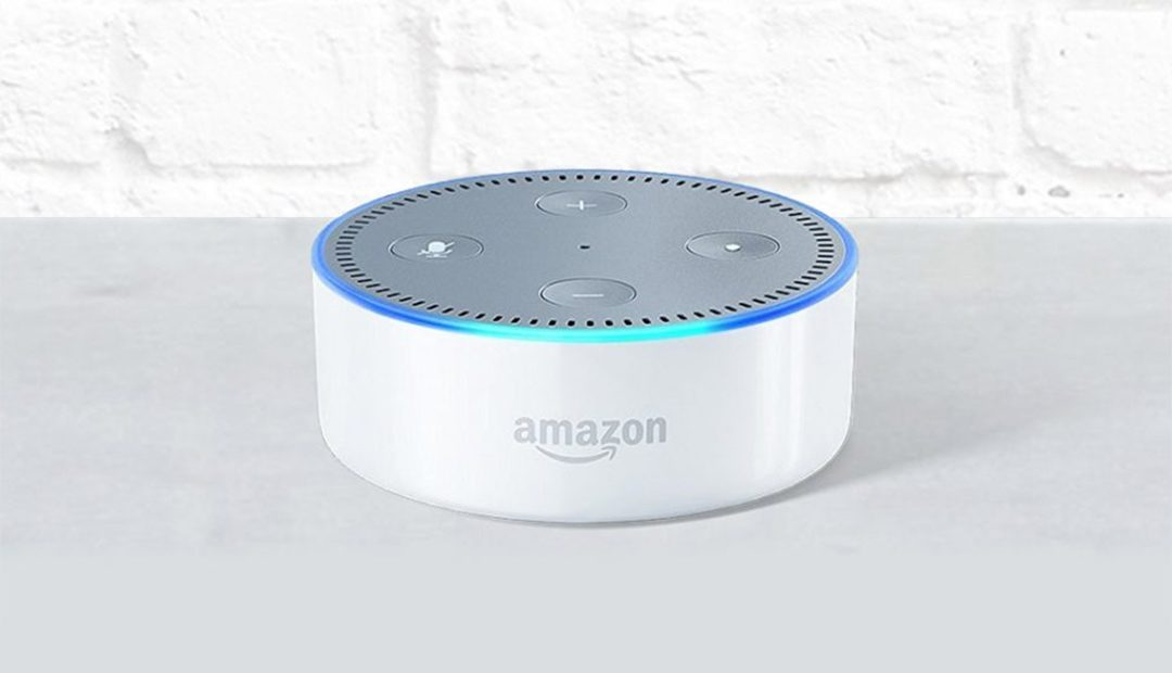 Win An Amazon Echo Dot (2nd Gen) In White