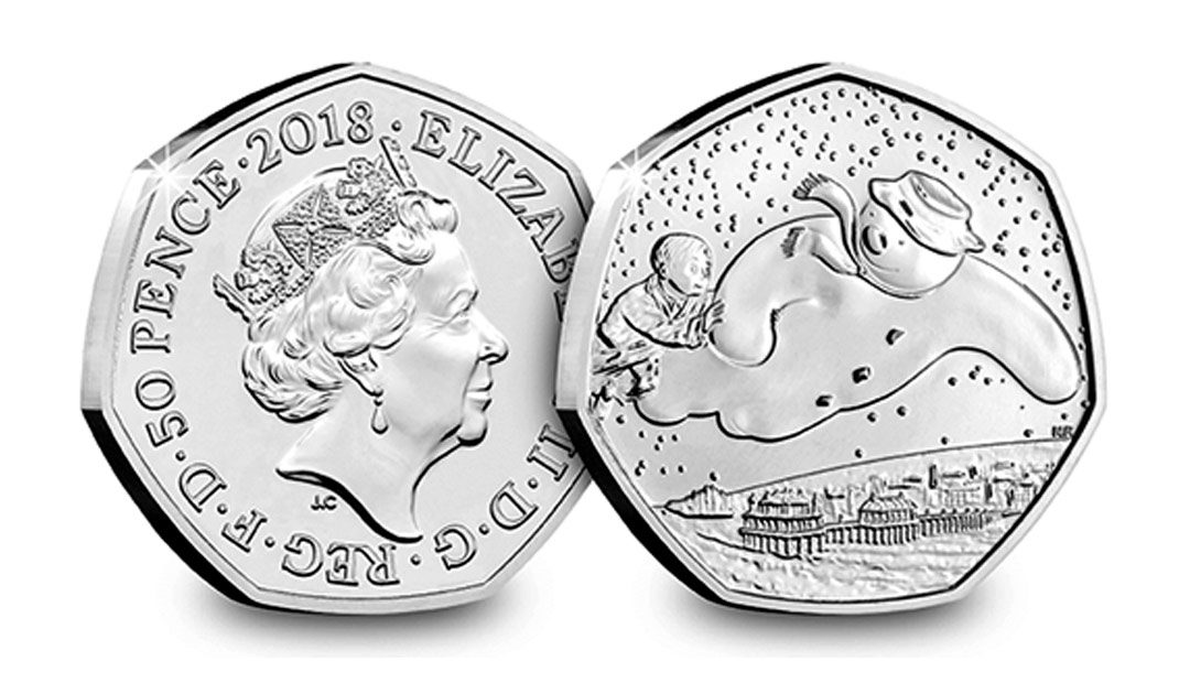 Win A 2018 The Snowman 50p Coin