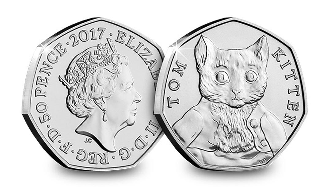 Win A Tom Kitten 50p Coin