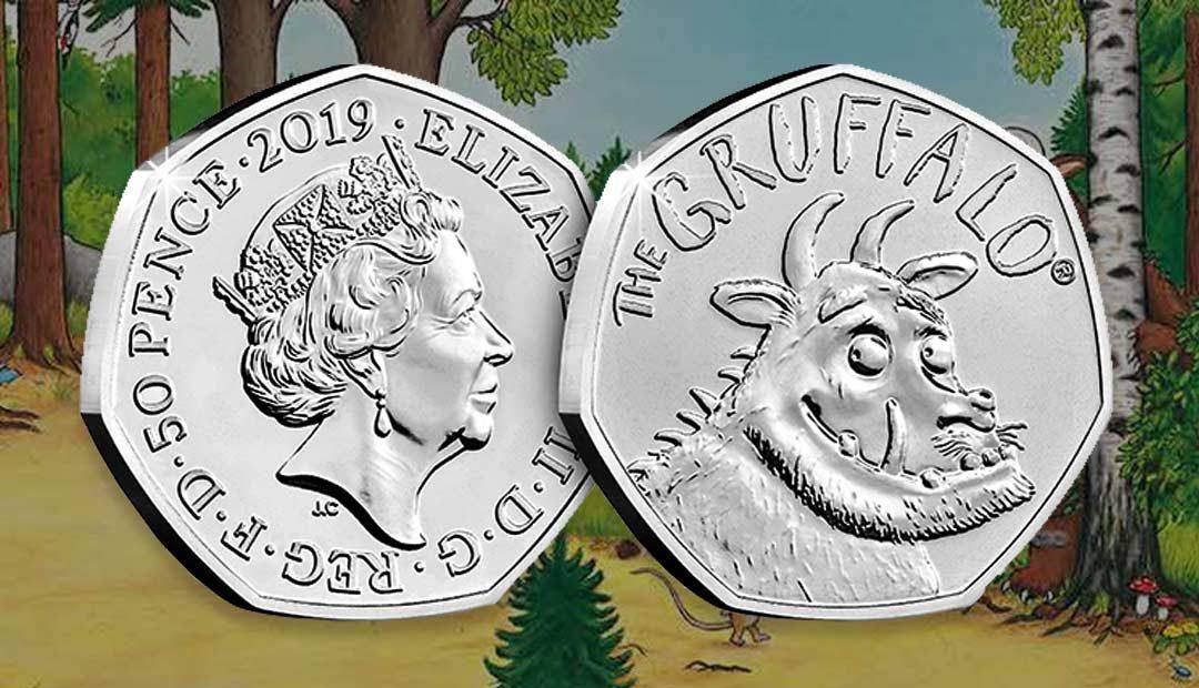 Win A Gruffalo 50p Coin