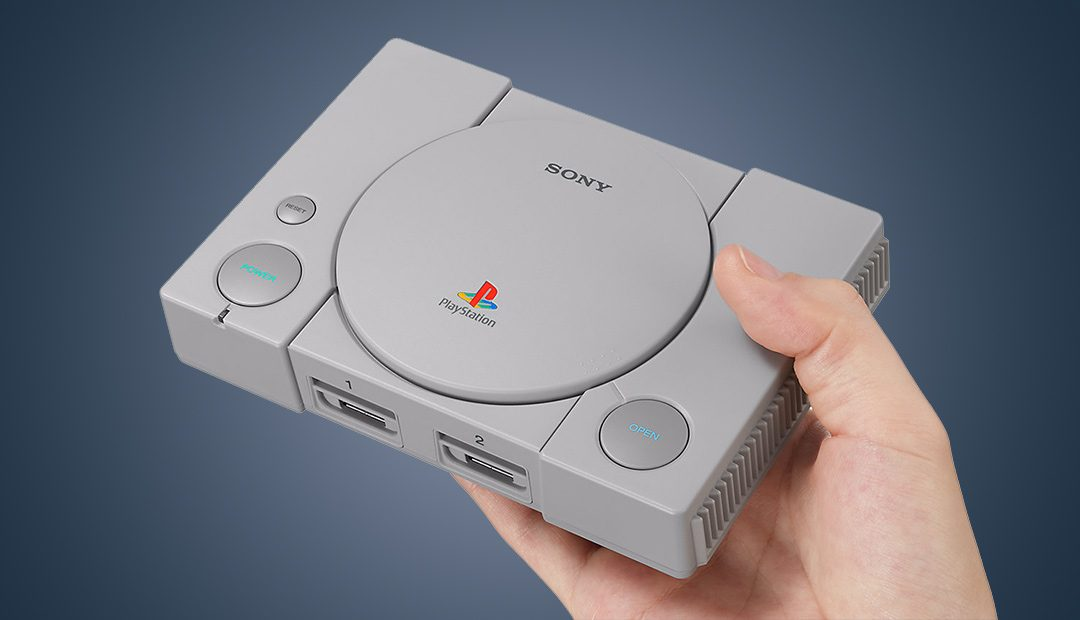Win A Sony PlayStation Classic