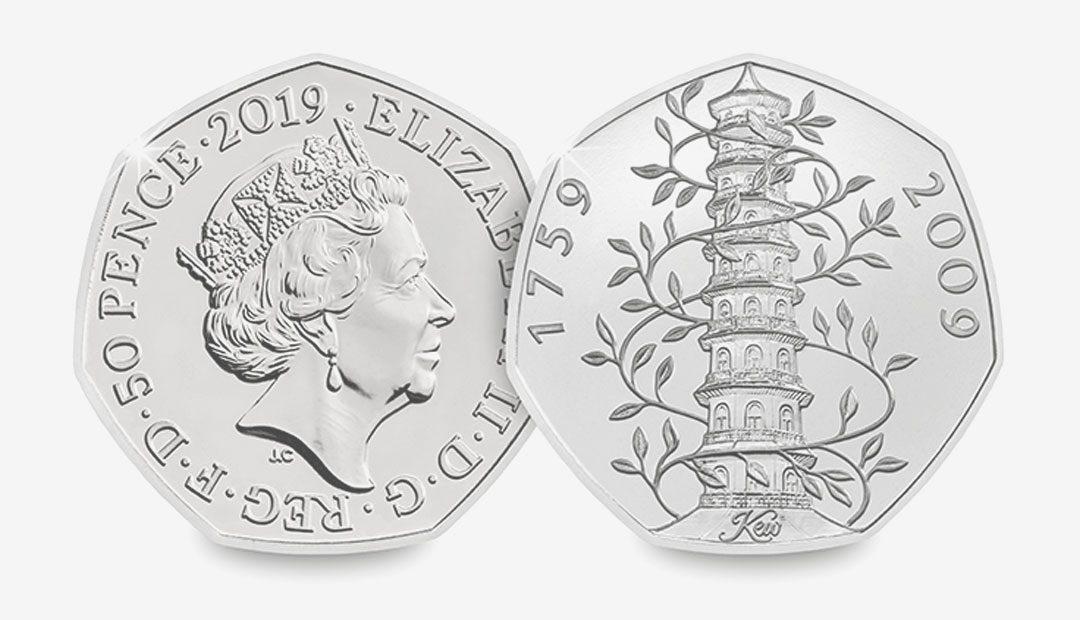 Win A 2019 Kew Gardens 50p Coin