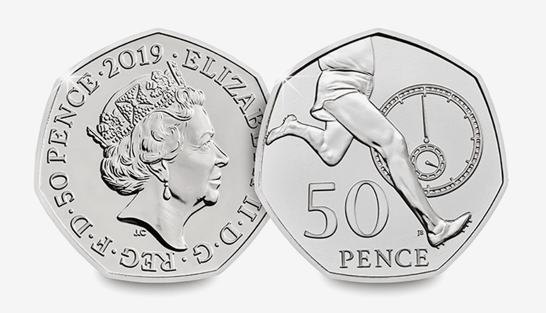 Win A 2019 Roger Bannister 50p Coin