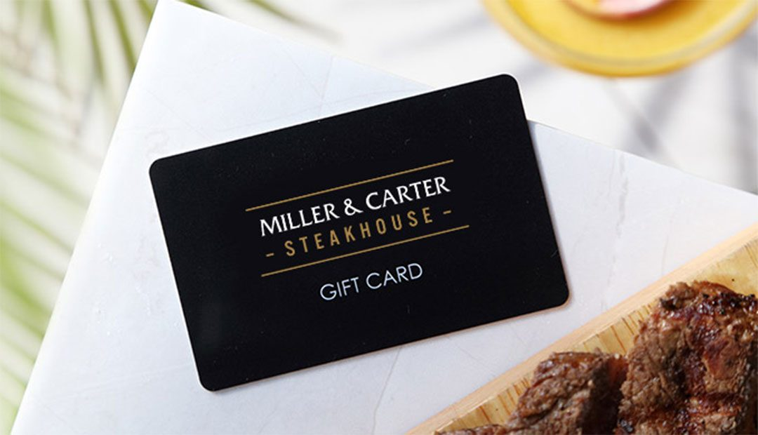 Win A £40 Miller & Carter Gift Card