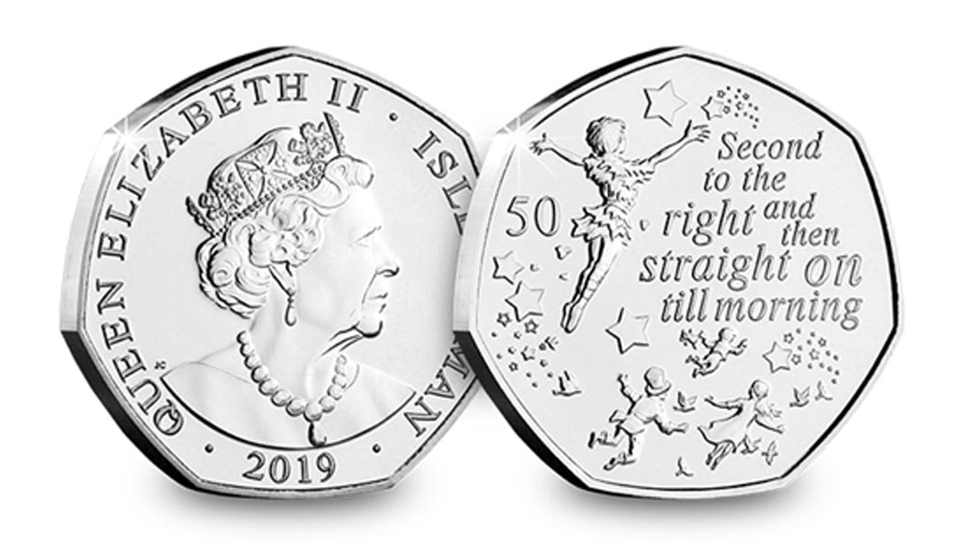 Peter Pan 50p Coin