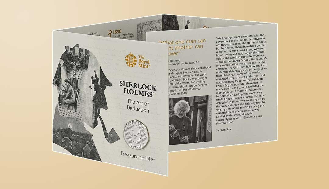 Win A Sherlock Holmes 50p Coin Pack