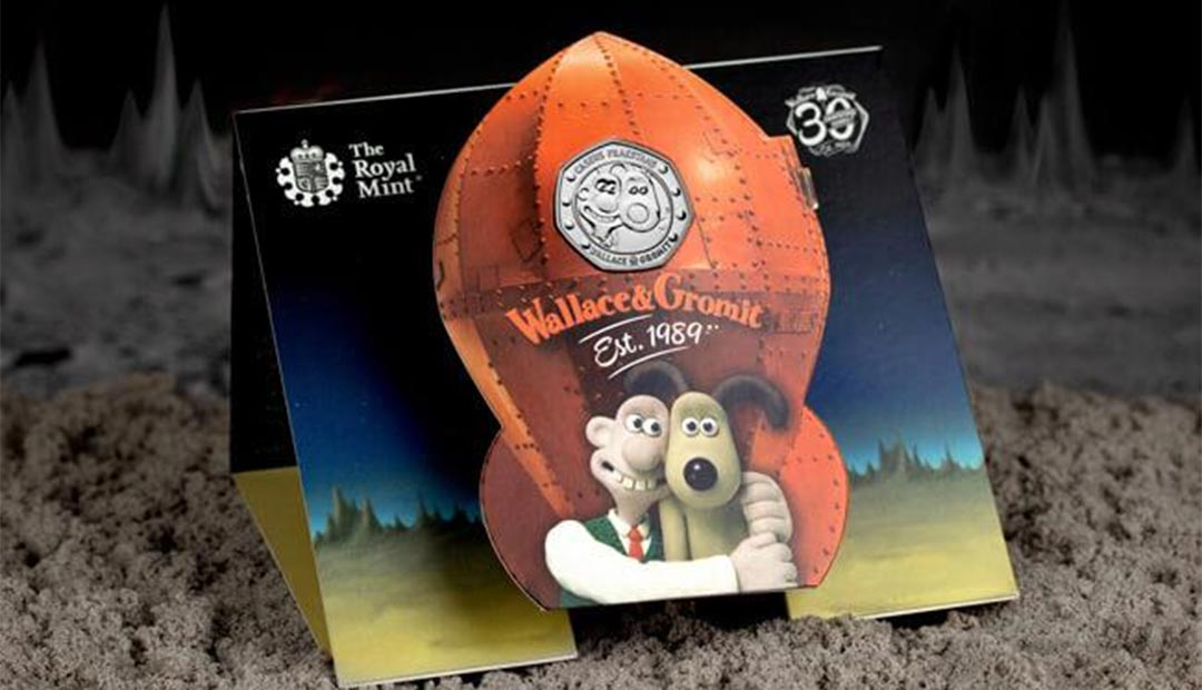 Wallace and Gromit 50p