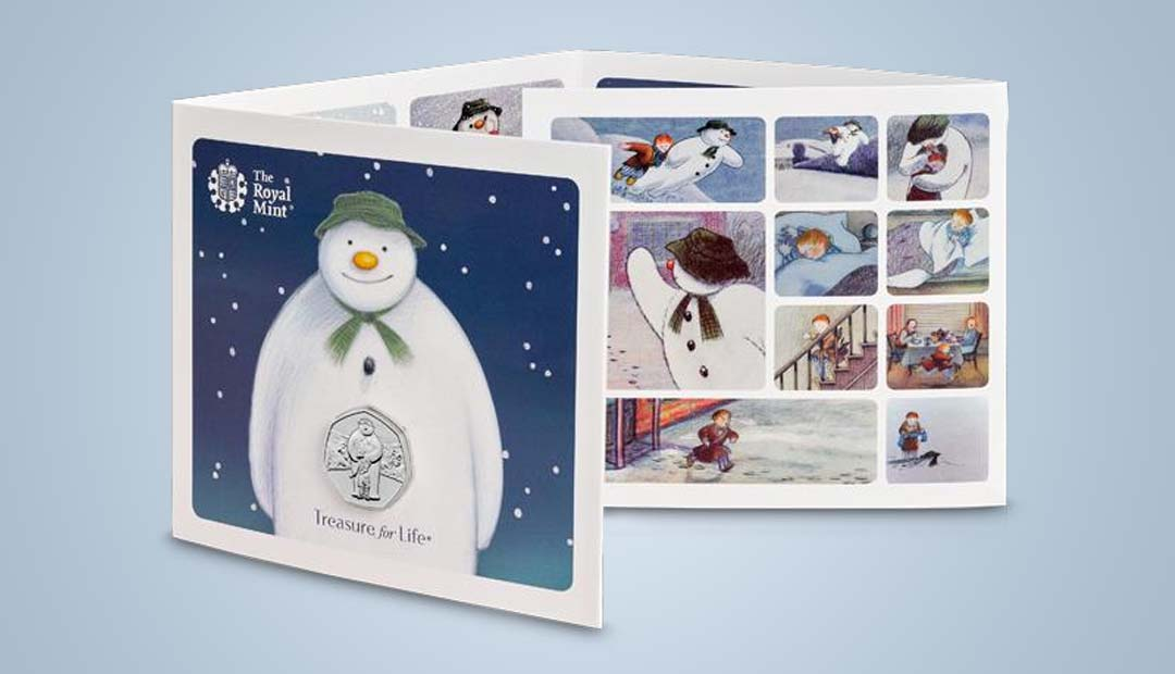 Win A The Snowman 50p Coin Pack