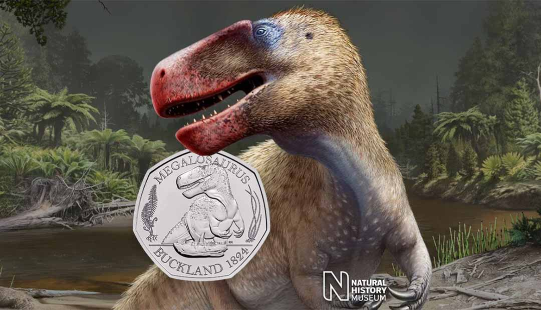 Win A Megalosaurus 50p Coin Pack