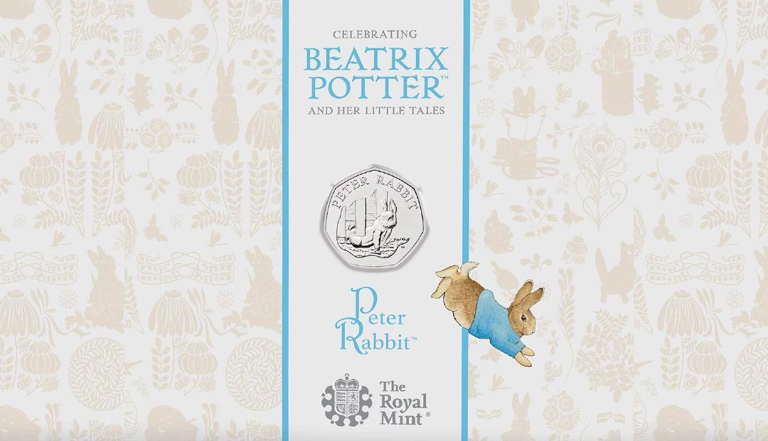 Win A Peter Rabbit 50p Coin Pack
