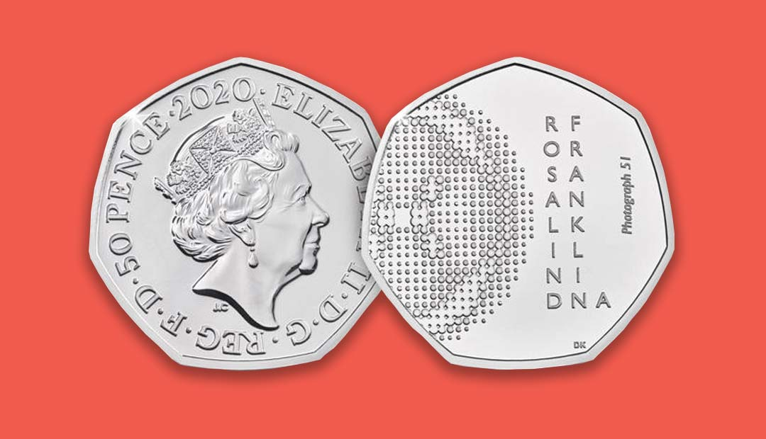 Win A Rosalind Franklin 2020 50p Coin Pack