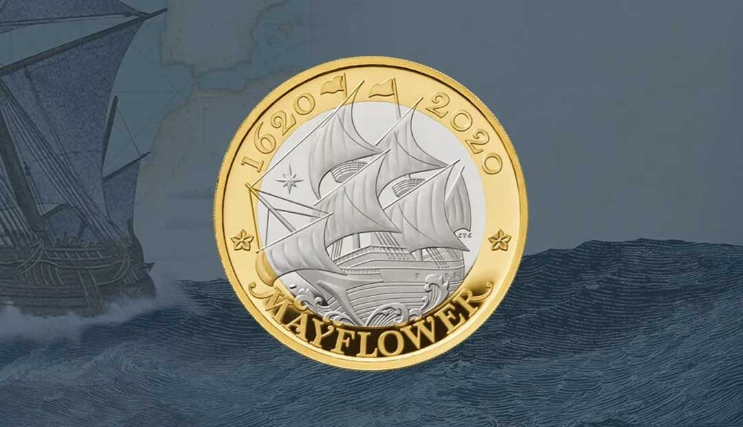 Win A Mayflower £2 Coin Pack
