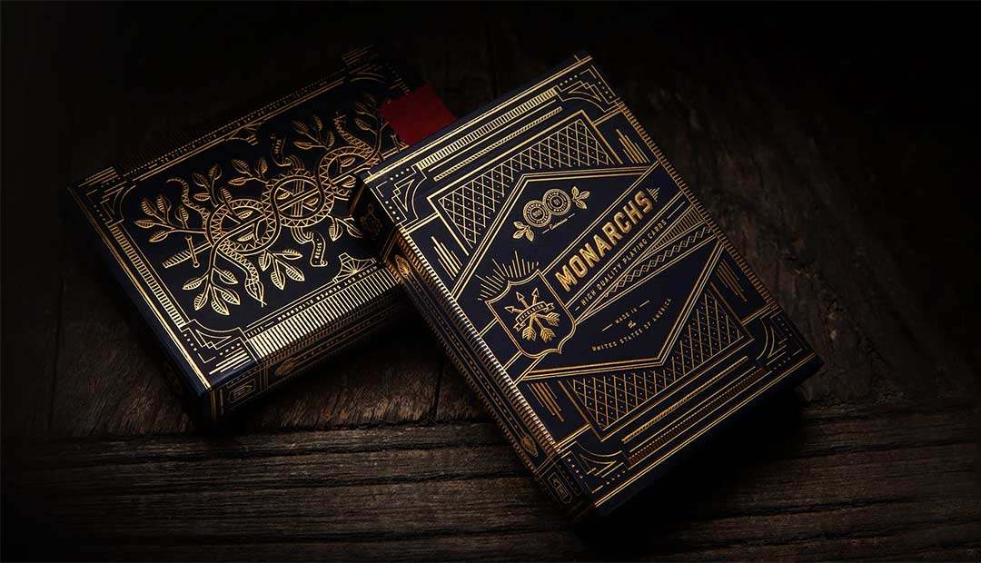 Win Monarch Playing Cards