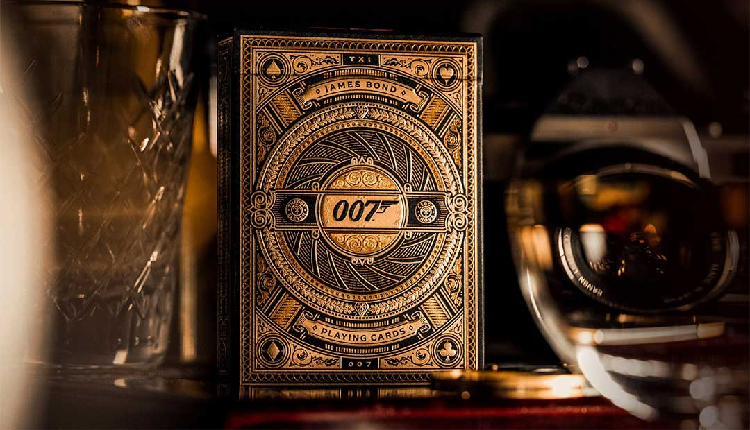 Win James Bond 007 Playing Cards