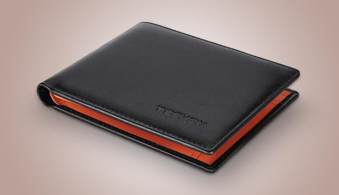 Win A TEEHON RFID Blocking Leather Wallet