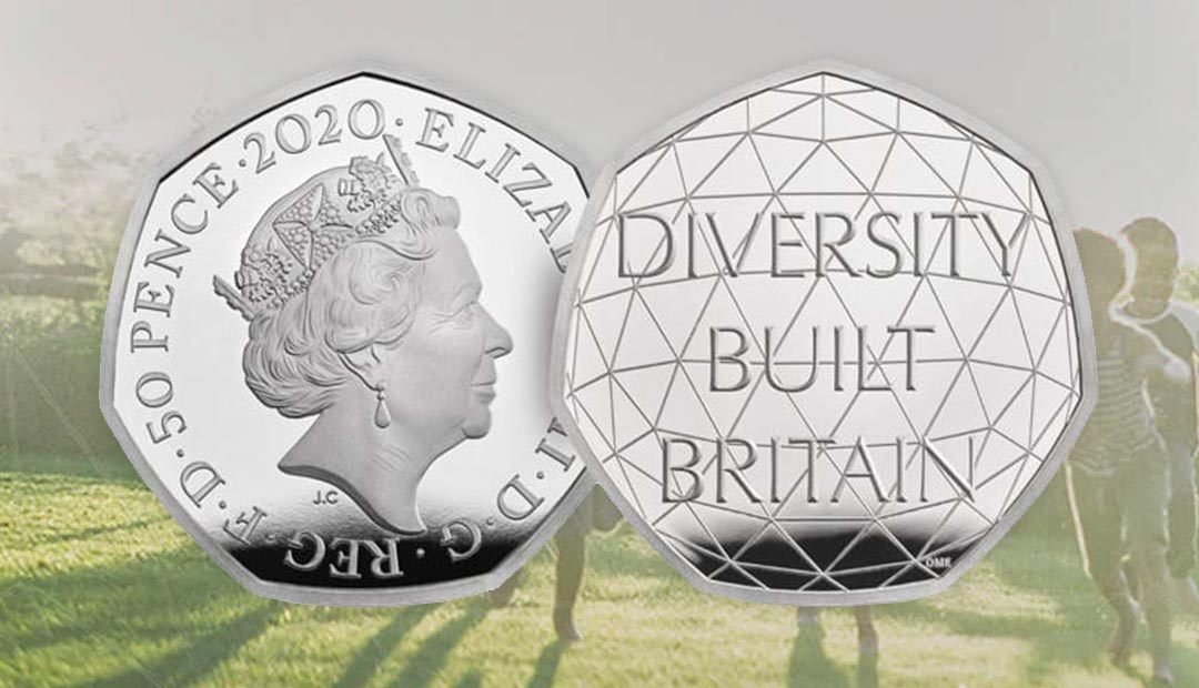 Win A Celebrating British Diversity 50p Coin Pack