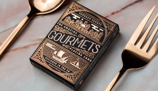 Gourmets Playing Cards