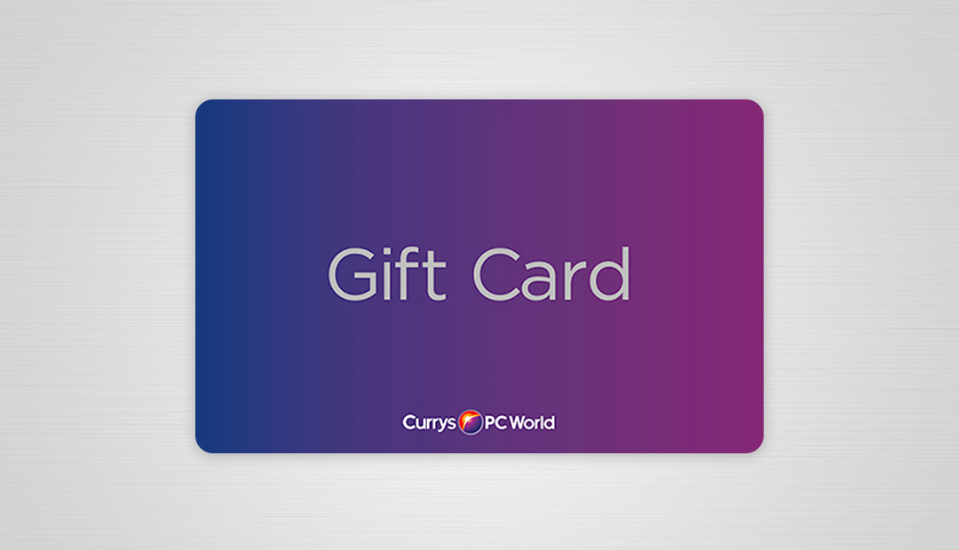 Win A £50 Currys PC World Gift Card
