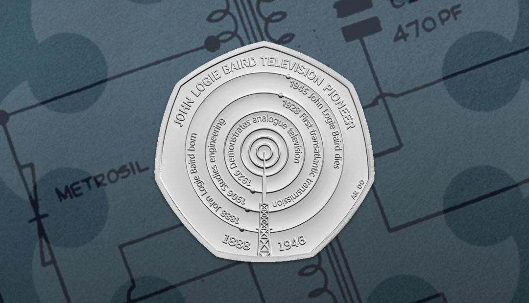 Win A John Logie Baird 50p Coin Pack