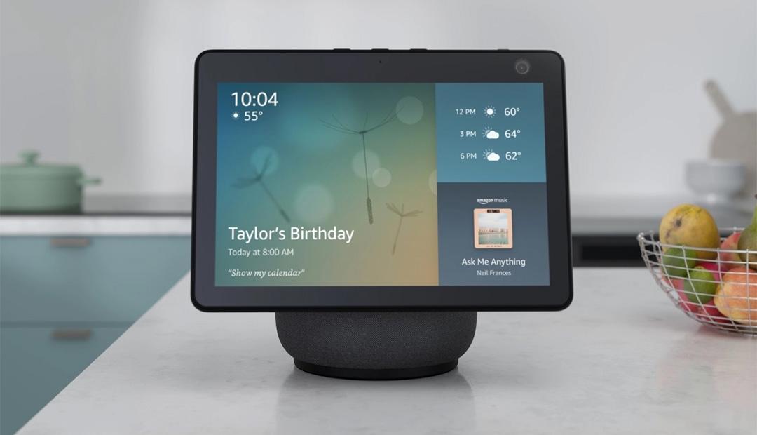 Win An Amazon Echo Show 10