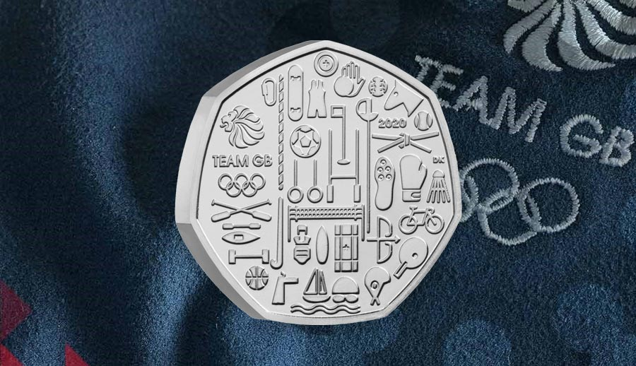 Win A Team GB 50p Coin Pack