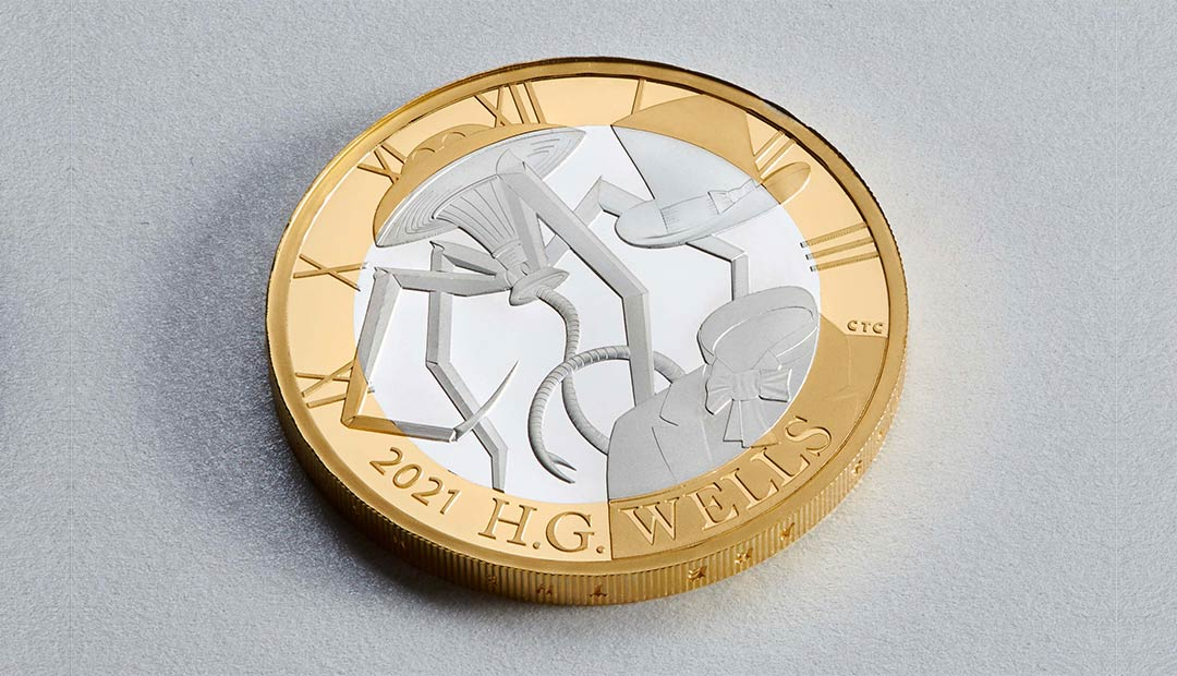 Win A H.G. Wells £2 Coin Pack