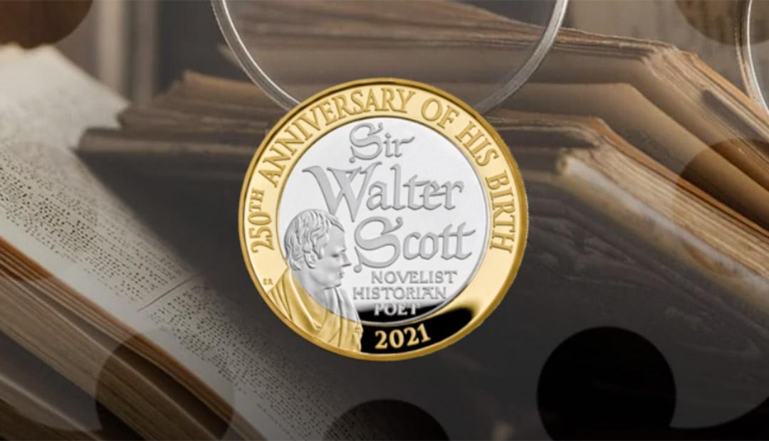 Win A Sir Walter Scott £2 Coin Pack