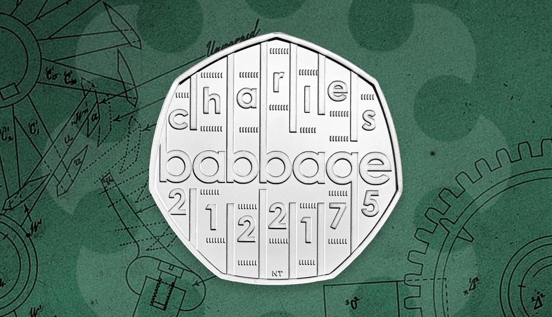 Win A Charles Babbage 50p Coin Pack