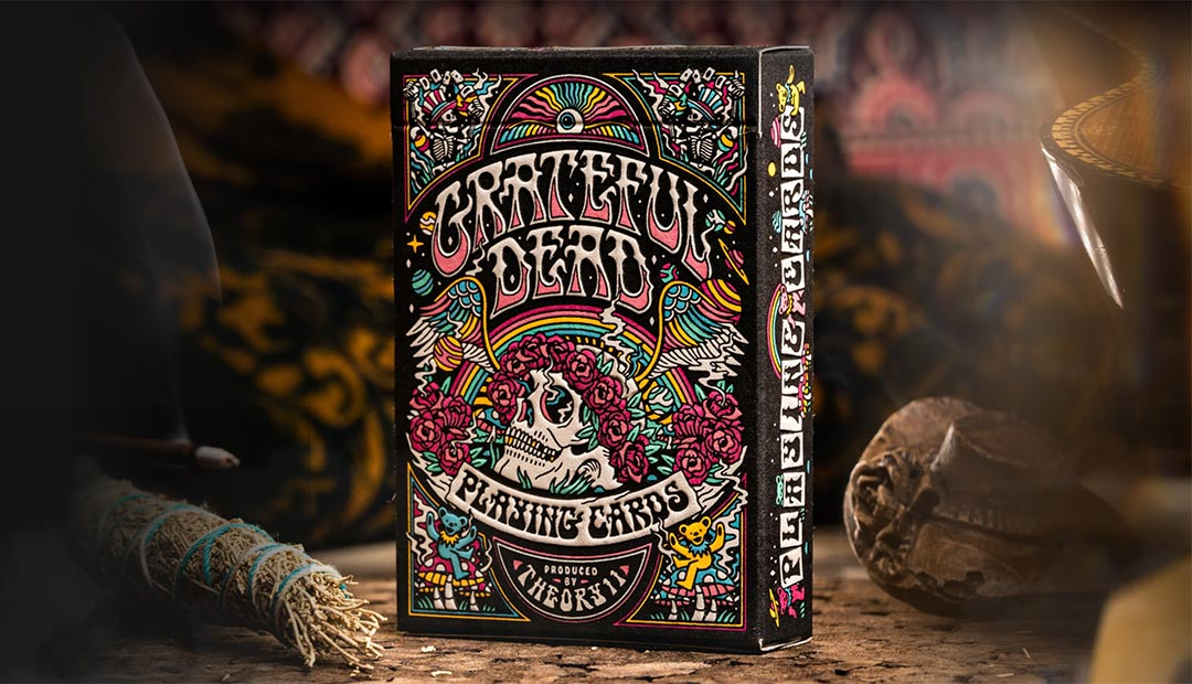 Win Grateful Dead Playing Cards